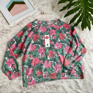 WILDFOX Island Holiday Sommers Sweatshirt NWT